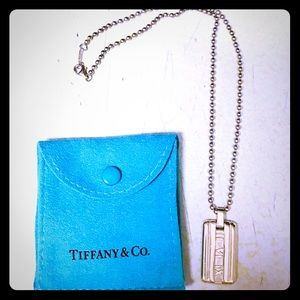 Tiffany & Co Atlas Sterling Silver Necklace